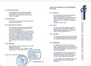 Statuten Lepra- und Kinderhilfe 1