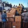 Hilfsgüter erreichen Indonesien